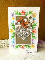 Thinking of you (yvenn.lee) Tags: handmadecard