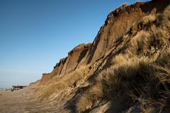 rotes  Kliff bei Kampen (andreas.zachmann) Tags: deu abendstimmung sand dünen meer strand himmel dünengras abend kliff winter nordsee abendlicht kampen schleswigholstein deutschland