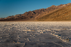 Badwater Basin (San Francisco Gal) Tags: badwater basin badwaterbasin deathvalley salt crystal mountain goldenhour nationalpark 2020
