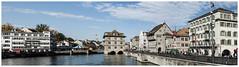 161-162- PANORÁMICA DE ZURICH (--MARCO POLO--) Tags: ciudades rincones panorámicas ríos