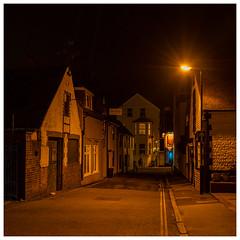 Crouch Lane, Seaford (Mandy Willard) Tags: 366 1001 2020th41 lamppost night seaford crouchlane