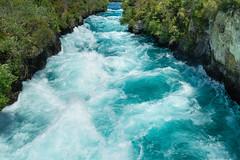 Huka Falls (fate atc) Tags: hukafalls laketaupooutflow nz newzealand northisland taupo waikato waikatoriver water rapid waterfall