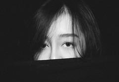 _DSC9169 (BaoNam Tran) Tags: portrait girl blackandwithe eyes streetphotography sonyalpha a6500 sonya6500 apsc vietnamesegirl street urban musing style outdoor naturallight beauty model deep gloomy moody lightroom characteristic emotional night