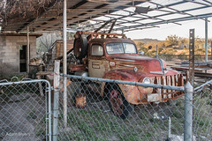 Ford Tow Truck, Presidio, Texas