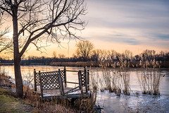 Broken Down (Neil Cornwall) Tags: 2019 canada december ontario rivercanard fall sunrise