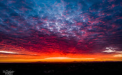 Drone sunrise (Explored) (Paul S Wharton) Tags: craigavon northernireland unitedkingdom sunrise drone mavic sky clouds