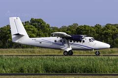 VH-ZKF DE HAVILLAND DHC-6 YRED (Sierra Delta Aviation) Tags: vhzkr de havilland dhc6 redcliffe airport yred