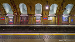 London, United Kingdom: Baker Street underground station (Hammersmith & City and Circle Lines) (nabobswims) Tags: bakerstreet england hdr highdynamicrange ilce6000 lightroom london metro mirrorless nabob nabobswims photomatix rapidtransit sonya6000 station subway tubes ubahn uk underground unitedkingdom