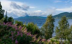 Loch Ness (Lense23) Tags: lochness scotland schottland landscape landschaft europa europe nature natur highlands clouds wolken himmel sky