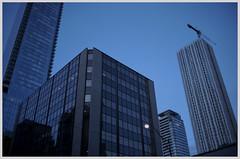 Toronto 12 (misu_1975) Tags: toronto ontario canada contax g2 contaxg2 kodak portra film street blue bluehour