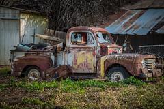 Needs TLC (Brad Prudhon) Tags: 2019 abandoned arizona december ford old pickup rusty safford junk truck