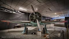 POLIKARPOV I-16 (juan carlos luna monfort) Tags: cahs centred´aviaciohistoricalasenia avion avio hdr antiguo historia plane tarragona montsia la senia nikond810 irix15 calma paz tranquilidad