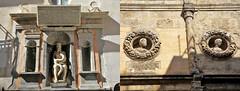 Dans le vieux Palerme, Sicile, Italie (claude lina) Tags: claudelina italia italie italy sicilia sicile sicily palermo palerme ville town cita architecture statue sculpture