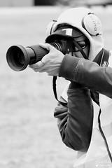 Anthony (Laurent Quérité) Tags: canonef100400mmf4556lisusm canoneos7d canonfrance portrait photographe spotter noirblanc blackwhite homme man meetingaérien airshow ba701 salondeprovence france