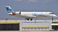 C-FXLH Aruba Airlines CRJ-200 (Infinity & Beyond Photography: Kev Cook) Tags: cfxlh aruba airlines crj rj regional jet crj200 airctfat airplane fll kfll fortlauderdale airport photos canadair bombardier