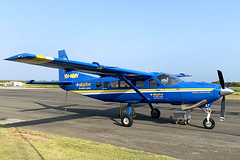 VH-NMV CESSNA 208 YRED (Sierra Delta Aviation) Tags: vhnmv cessna 208 redcliffe airport yred