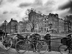 Prinsengracht 4-1-20 (c.stoof) Tags: prinsengracht reguliersgracht amsterdam centrum grachten cityscape bridge brug bike fiets grachtenpand grachtengordel deduif