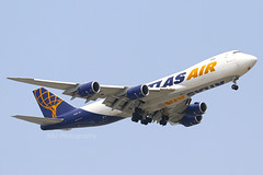 Atlas Air B747-8 N856GT 11-01-2020 Brisbane Airport (Annette_747) Tags: plane brisbane atlas boeing b747 atlasair ybbn b7478 cargo