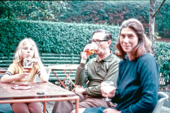 Scans on Saturday (Jainbow) Tags: sonning brother photo slide transparency scanned pub family me mum dad jainbow 1973