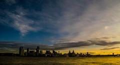 There She Goes (Tony Shertila) Tags: england newbrighton britain europe liverbuilding mersey merseyside river wallart waterfront wirral ©2019tonysherratt 20191215114442 seacombe sky clouds sunrise dawn