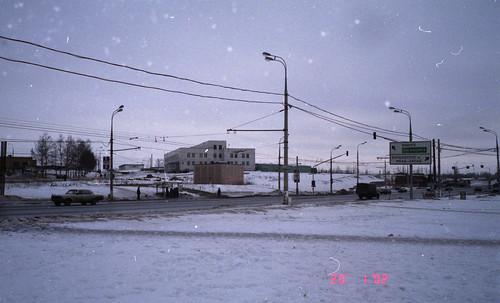 Липецкая улица в Загорье, 2002 ©  trolleway