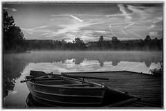 Lake Kell at sunrise, Kell am See (werner-marx) Tags: analog film meinfilmlab mediumformat agfarecordiii apotar kodakportra400 kellamsee lakekell sunrise