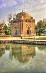 Bukhara UZ - Samanid Mausoleum 08 (Daniel Mennerich) Tags: silk road uzbekistan bukhara history architecture samanid mausoleum canon dslr eos hdr hdri spiegelreflexkamera slr