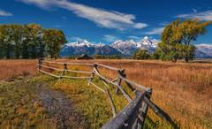 Grand Teton National Park (reinaroundtheglobe) Tags: wyoming grandtetonnationalpark daytime landscape travelphotography touristdestination usa nationalpark mountainrange reinaroundtheglobe reiniersnijders fullframe