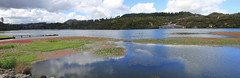 Orekei Korako (jpotto) Tags: newzealand rotorua orekeivalley geothermal volcanic water aotearoa panoramic taupo orakeikorako waikatoriver northisland