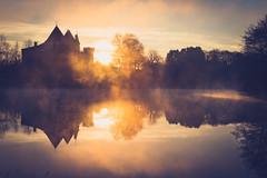 Brume et lumière sur l'étang (Denis-33) Tags: 12décembre2019 2019 cessac château deptgironde lacdelaubesc lumièreleverdesoleil