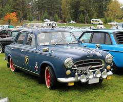 1961 Peugeot 403 B Hemi Taxi (crusaderstgeorge) Tags: crusaderstgeorge cars classiccars chrome carmeet cool patina taxi 1961peugeot403bhemitaxi 1961 peugeot 403 b hemi frenchcars högbo sweden sverige