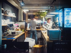 2243/1746 (june1777) Tags: snap street alley seoul night light bokeh fujifilm gfx 50r canon ef 50mm f10 ii 2500 hongdae window vin4