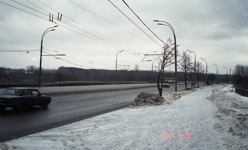 Липецкая улица 2002 ©  trolleway