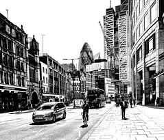 The city (@Mlk_Dahoui) Tags: london city europe nikond750 people walk car bus building architecture street photo picture photography art new blackandwhite bw draw