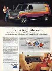 1975 Ford Econoline Van USA Original Magazine Advertsement (Darren Marlow) Tags: 1 5 7 9 19 75 1975 f ford e econoline v van c car cool collectible collectors classic a automobile vehicle u s us usa united states american america 70s