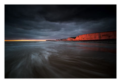 Birling Gap / January 10th (Edd Allen) Tags: birlinggap sea seaside coast coastal uk southeast eastsussex england greatbritain nikon landscape seascape clouds atmosphere atmospheric sunset summer nikond810 d810 sevensisters