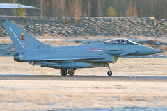 ZK356 United Kingdom Air Force Eurofighter Typhoon FGR4, EFTP, Finland (Sebastian Viinikainen.) Tags: zk356 unitedkingdomairforce uk raf eurofighter typhoon fgr4 hx eftp