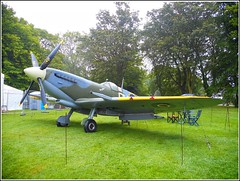 """""""Spitfire"""" on  Display ,, (** Janets Photos **) Tags: uk eastyorkshire hull publicparks events veterensweekend spitfires"""