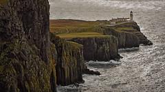 Rock of Ages.. (Harleynik Rides Again.) Tags: neistpoint lighthouse isleofskye seascape rocks innerhebrides shotawayphotography harleynikridesagain inexplore explore