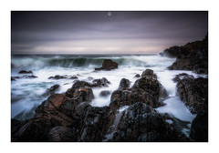 Get Ready to Move (Augmented Reality Images (Getty Contributor)) Tags: nisifilters aberdeenshire benro canon cliffs clouds coastline cullen hightide landscape logiehead longexposure morayfirth rocks scotland seascape storm water waves winter