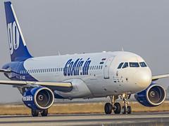 Go Air Airbus A320 VT-GOS Bangalore (BLR/VOBL) (Aiel) Tags: goair airbus a320 vtgos bangalore bengaluru canon60d tamron70300vc