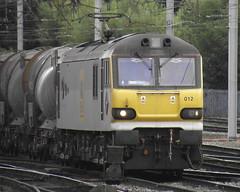 EWS Class 92 92012 (Rob390029) Tags: ews class 92 92012 carlisle citadel railway station car