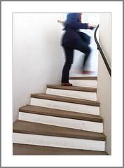 Es geht aufwärts (It's going up) (alfred.hausberger) Tags: aufwärts treppe burg trausnitz landshut