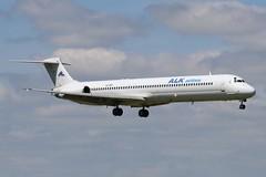 ALK Airlines LZ-ADV DUB 03/07/19 (ethana23) Tags: planes planespotting aviation avgeek aircraft aeroplane airplane alkairlines mcdonnelldouglas md80 md82