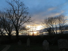 Late afternoon Sky... (Marie on Flickr) Tags: late afternoon sky pershore worcestershire wyre piddle church st anne churchyard