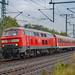218 465-3 DB Regio IC Shuttle 18648 Hannover - Berlin Ost Lehrte 09.10.13
