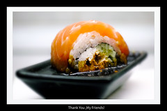 Thank You,My Friends! (Listenwave Photography) Tags: placetobe saintpetersburg top cooking japanese japan congratulations network topsocial flickr jubilee sigma colors closeup product yumyum food sushi foveon listenwave thankyou thankyouday