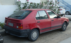1989 Renault 19 GTS (FromKG) Tags: renault 19 gts red car sarti greece 2019