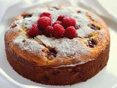 Raspberry Ricotta Cake (gamze avci) Tags: sweet nikon photography food italian ricotta raspberries dessert baking cake