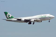 Eva Air (BR/EVA) / 747-45EM / B-16408 / 05-16-2004 / HKG (Mohit Purswani) Tags: ahkgap br eva evaair taiwan taipei 747 747400 747400m 744 744m boeing boeing747 boeing747400m boeing747400 b16408 hkg hkia clk vhhh hongkong 07l finalapproach widebody civilaviation commercialaviation jumbojet c750 olympus